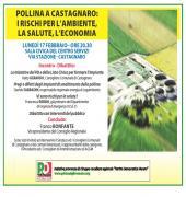 un incontro per discutere dei rischi ambientali, per la salute e per l'agricoltura.